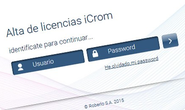 Licence iCrom